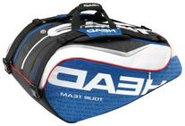 HEAD Tour Team Monstercombi Tennis Bag, Blue/White/Red