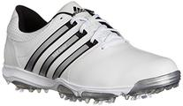 adidas Men's Tour360 X Cleated Golf Shoe,Running White/Black