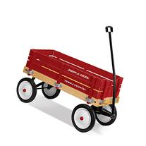 Radio Flyer Town & Country Wagon Ride-on, Wagon for Kids