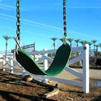 AGPtek Polymer Swing Belt Seat Replacement Children Flexible