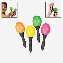 24 Pc Toy Maracas - Small - 12 Pair Per Order - Great Party