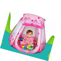 YL Kids Toy Pink Princess Play Tent Girls Gifts for 1-8