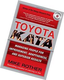 Toyota Kata: Managing People for Improvement, Adaptiveness