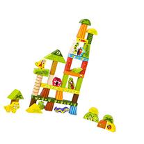 PBS Toys Rainforest Blocks Play Set