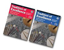Tradition of Excellence with DVD for Percussion - Two Book