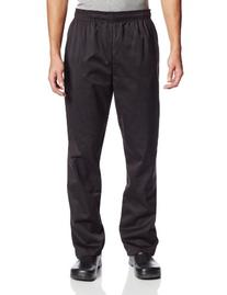 Dickies Men's The Traditional Baggy Chef Pant, Black, XX-