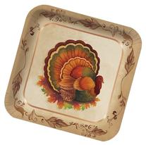 Creative Converting 8 Count Traditional Feast Square Paper