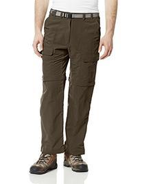 White Sierra Men's Trail 30-Inch Inseam Convertible Pants,