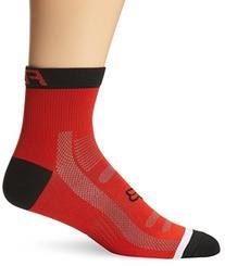 Fox Men's Trail 4-Inch Socks, Red, Small/Medium