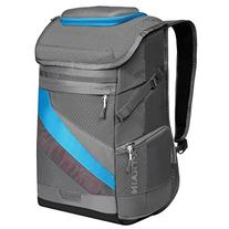 "Ogio X-Train Backpack, Gray/Electric, 19.5"" H x 12.5"" W x 6."