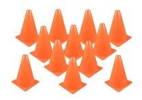 Fun Express Set of 12 Sport Training Traffic Orange Cones