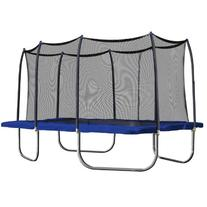 Skywalker Rectangle Trampoline with Enclosure, 15-Feet