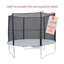 Upper Bounce 8 Pole Trampoline Enclosure Set to fit 14 FT.