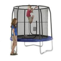 JumpKing 8' Foot ft. Outdoor Trampoline and Safety Net