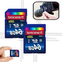 Transcend 128GB High Speed Class 10 SD  MEMORY CARD  for