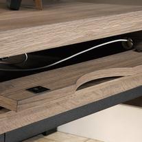 Sauder Transit L-Shaped Desk - Salt Oak