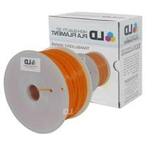 LD Translucent Orange 1.75mm 1kg PLA 3D Printer Filament