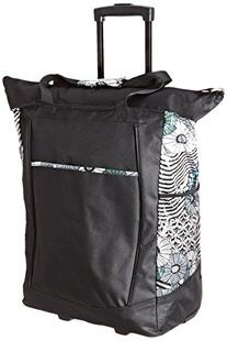 Traveler's Choice U.S. Traveler Rolling Shopper Tote with