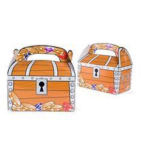 Treasure Chest Goodie Treat Boxes Pirate Birthday Theme Loot