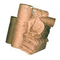 A.M. Leonard 10 Ounce Treated Burlap Basket Liner - 60 x 60