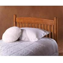 Oak Tree Classic Wood Slat Headboard in Medium Oak Finish