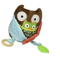 Skip Hop Treetop Friends Hug & Hide Activity Toy Owl, Multi