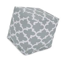 Majestic Home Goods Trellis Cube, Small, Gray