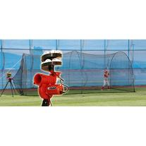 HEATER SPORTS Slider Lite Curveball Baseball Pitching Machine for Kids, Teens, and Adults, Uses Pitching Lite Machine Baseballs & Plastic Baseballs,