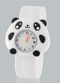 Style Trend Kids Watches Cute Cartoon Panda Design Children'