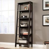 Sauder 5 Shelf Bookcase, Jamocha Wood