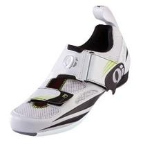 Pearl iZUMi Women's Tri Fly IV Cycling Shoe,White/Black,42
