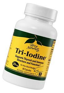 Terry Naturally Tri-Iodine 25 mg 60 caps