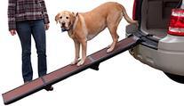 Pet Gear Tri-Fold Ramp 71 inch Pet Ramp supports 200LBS,