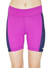 MooMotion Womens 6-Inch Tri Short Large Pink