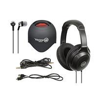 Wicked Audio The Triad 4 pc Set: Headphones, Ear Buds,