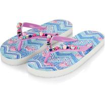 Monsoon Tribal Flamingo Beaded Flip Flops