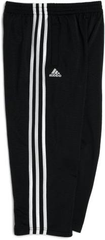 adidas Little Boys' Tricot Pant, Black, 6