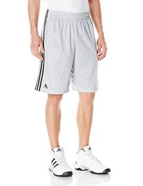 Adidas Men's Triple UP 2.0 Shorts, Lead White, Small