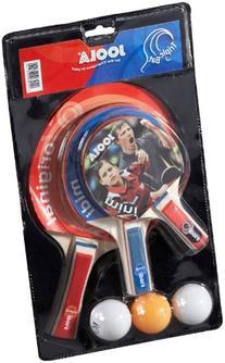 JOOLA Triple Racket Set