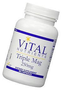 Vital Nutrients - Triple Mag 250 mg - Magnesium for Enhanced