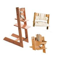 Stokke Tripp Trapp High Chair, Cushion and Baby Rail