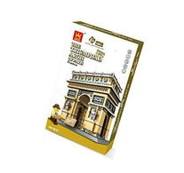 THE TRIUMPHAL ARCH OF PARIS Building Blocks 1401 pcs set