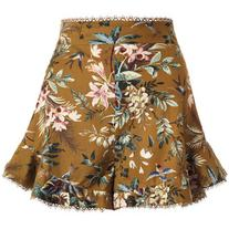 ZIMMERMANN Tropicale Flutter Short