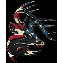 Legendary Whitetails Truck Buck Window Decal Flag Large