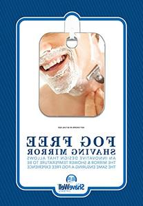 The Shave Well Company a TRULY FOG FREE Shower Shave Mirror