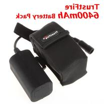 TrustFire 6400mAh 8.4v Rechargeable Battery Pack for Bicyle