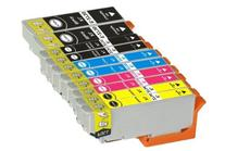 TS 10-PK T273XL Remanufactured compatible ink cartridges for