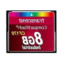 Transcend TS8GCF170 CF170 8GB CompactFlash  Card