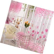 Treely's Boutiques Tulip Flower Floral Tulle Voile Window