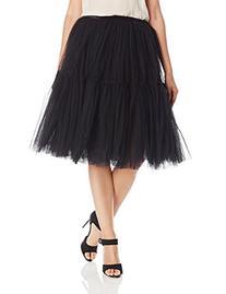 Glamorous Women's Tulle Skirt, Black, Medium